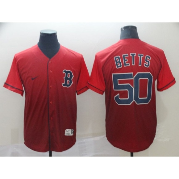 check out 3abd3 db381 Boston Red Sox Mookie Betts Jersey (3)